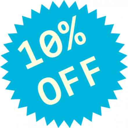 Complete seu pedido e ganhe desconto de 10% em todos os produtos comprados, o desconto irá aparecer ao finalizar o pedido!