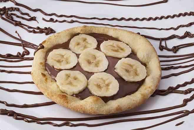 Esfiha banana c/ Nutella
