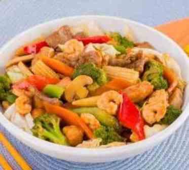 China House Especial - Executivo (serve bem 1 pessoa, acompanha arroz)