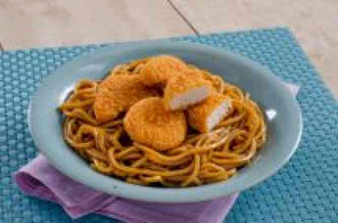 China Kid's Macarrão com Nuggets