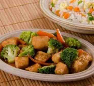 Frango com Brócolis - Executivo (serve bem 1 pessoa, acompanha arroz)