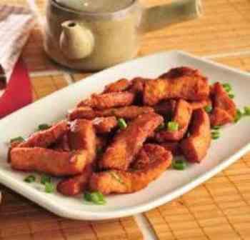 Lombo Frito - Individual (serve 1 pessoa)