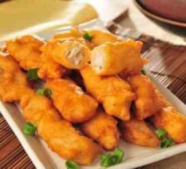 Peixe Empanado - Individual (serve 1 pessoa)
