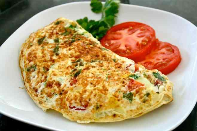 Omelete de champignon