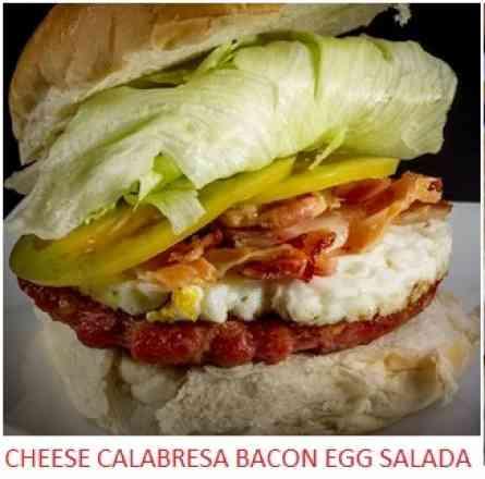 Hamburger De Calabresa