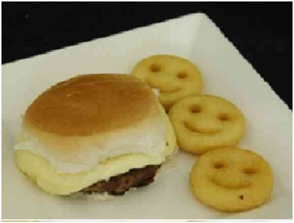 Mini Cheese Burguer (60g)