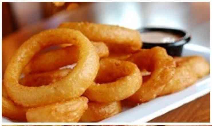 Porção De Onion Rings (Meia Porção)