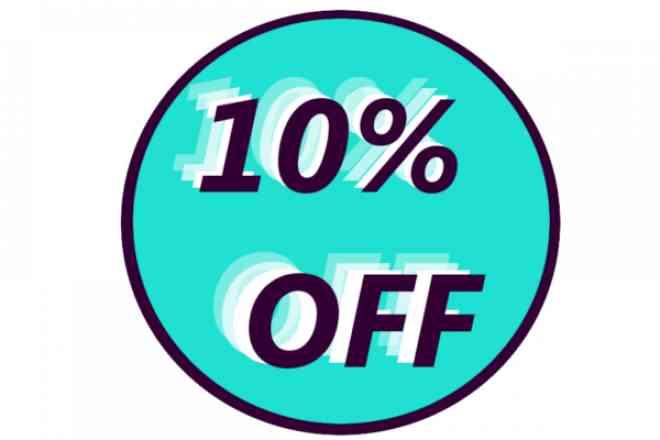 Complete seu pedido e ganhe desconto de 10% em todos os produtos comprados, o desconto irá aparecer ao finalizar o pedido.