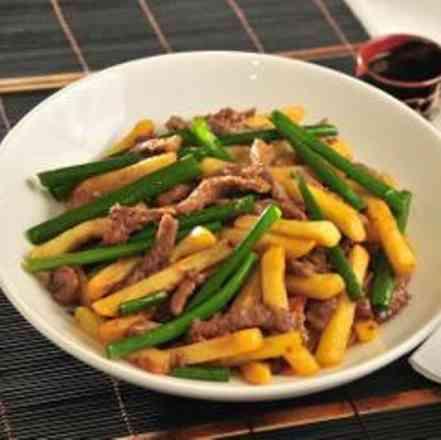 Filé da China - Executivo (serve bem 1 pessoa, acompanha arroz)
