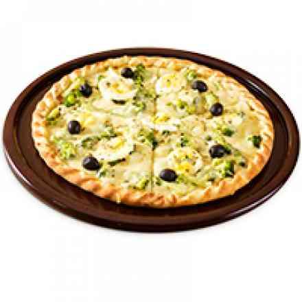 Pizza de Brócolis (brotinho)