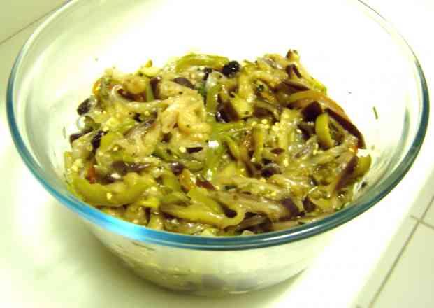 Deliciosa Caponata de Berinjela (Antepasto) Pote de 500gr