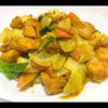 Frango ao Curry - Padrão
