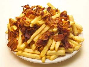 Porção de Batatas Fritas com Bacon