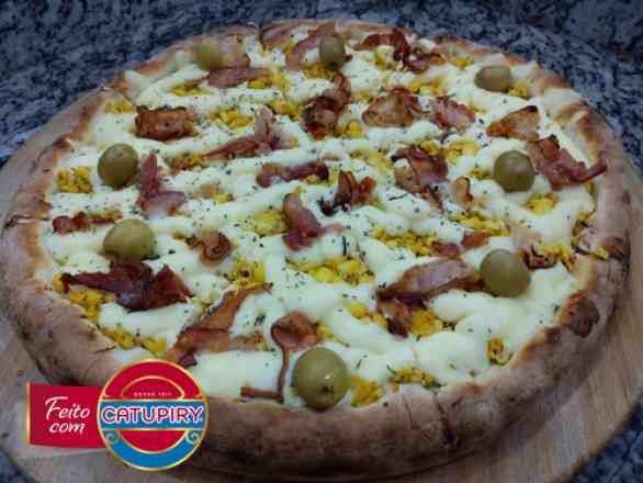 Pizza Caipira - Broto