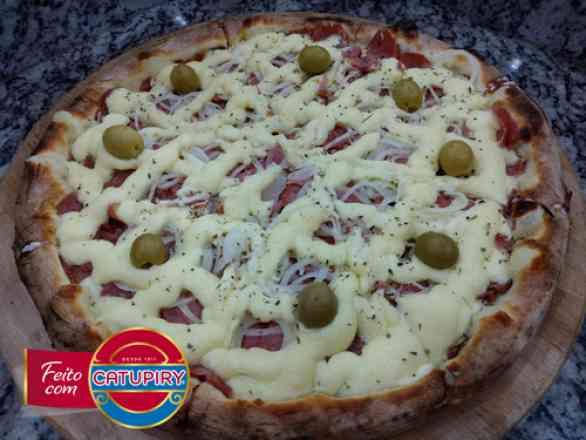 Pizza Calabria - Broto