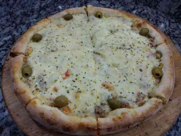 Pizza de Atum 1 Legítimo - Broto