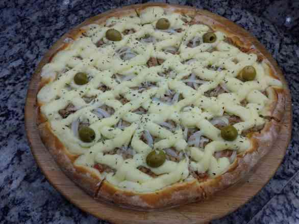 Pizza de Atum 2 Legítimo - Broto