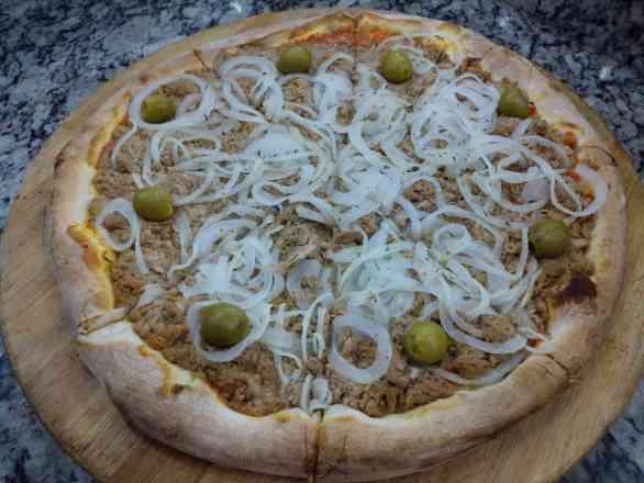 Pizza de Atum Legítimo - Broto