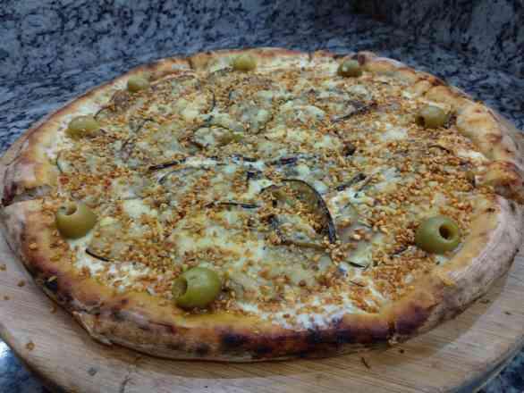 Pizza de Berinjela - Grande