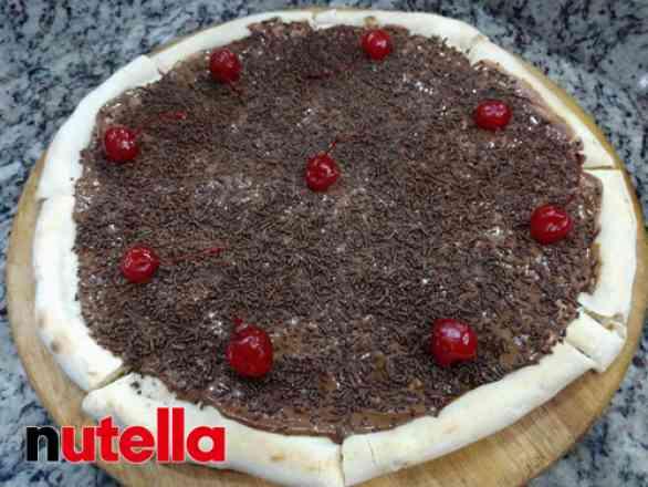 Pizza de Brigadeiro - Broto
