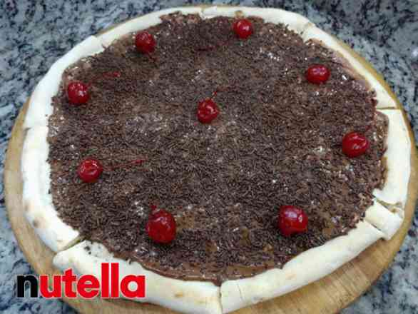 Pizza de Brigadeiro - Grande