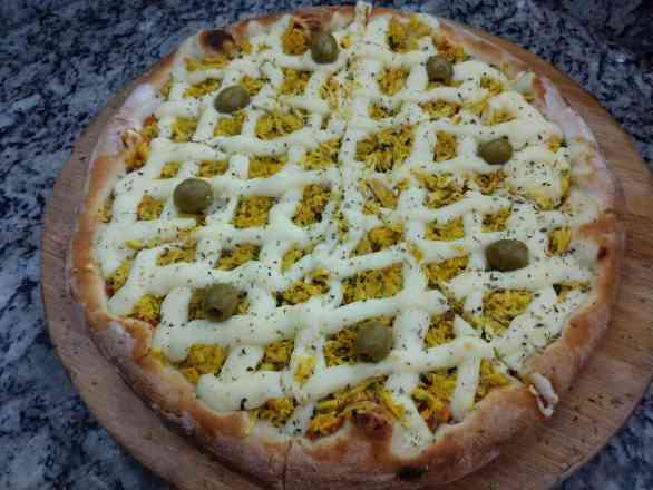 Pizza de Catufrango - Broto