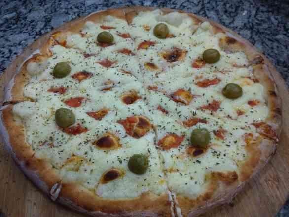 Pizza de Catupiry - Broto