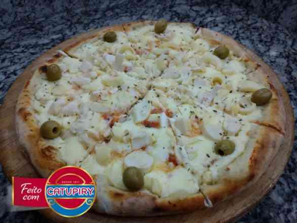 Pizza de Palmito 2 - Broto