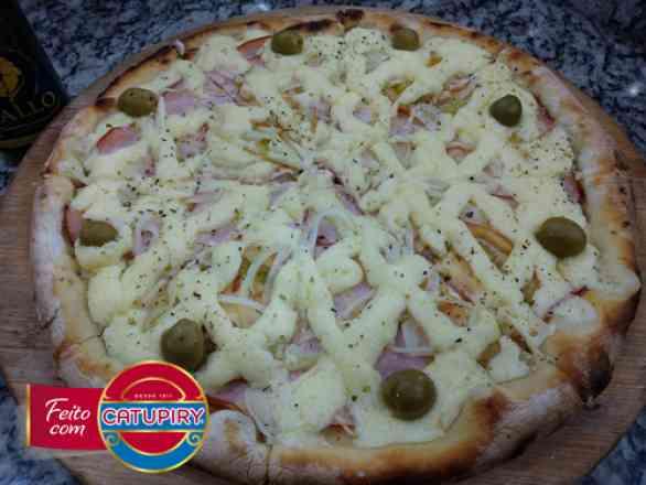 Pizza de Peito de Peru 2 - Broto