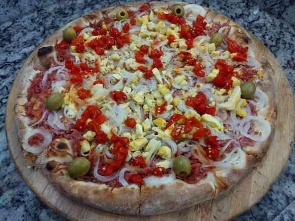 Pizza Baiana - Broto