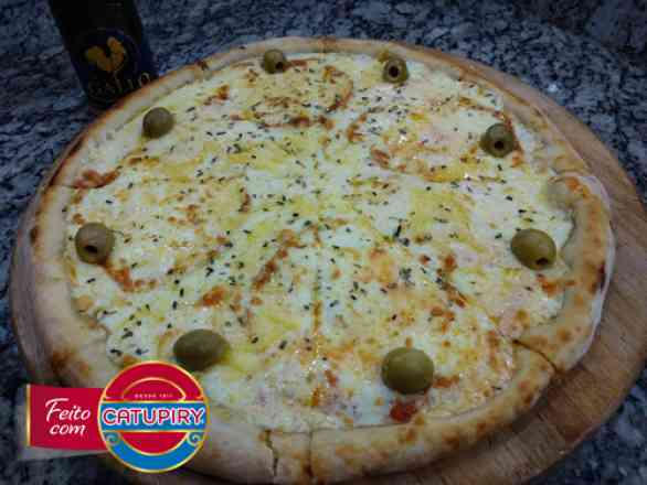 Pizza de 4 Queijos - Grande