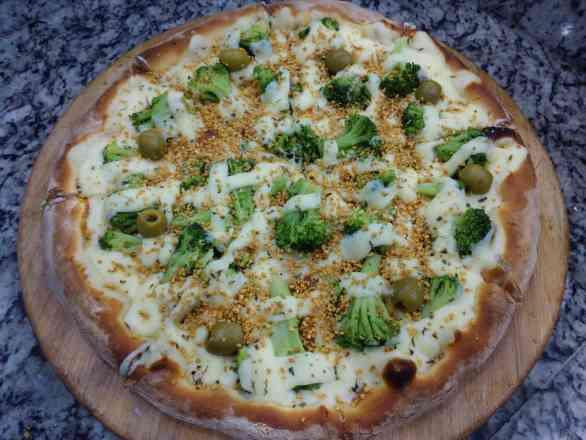 Pizza de Brócolis 1 - Grande