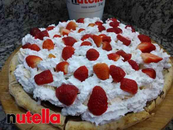 Pizza de Merengue - Broto