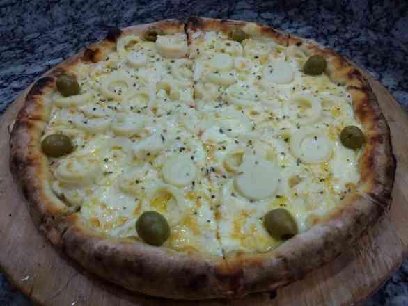 Pizza de Palmito 1 - Broto