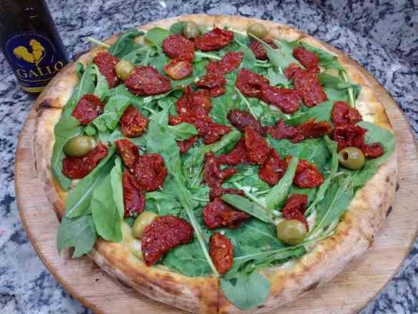 Pizza de Tomate Seco - Broto