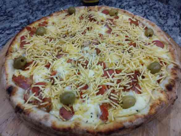Pizza Dog Bacanas - Broto
