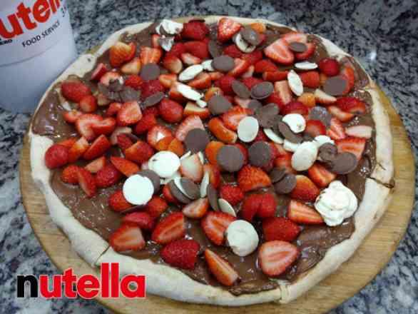Pizza Morchoc - Grande