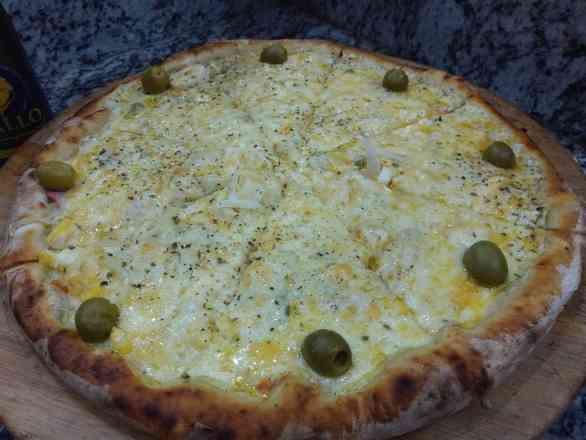 Pizza Portuguesa - Broto