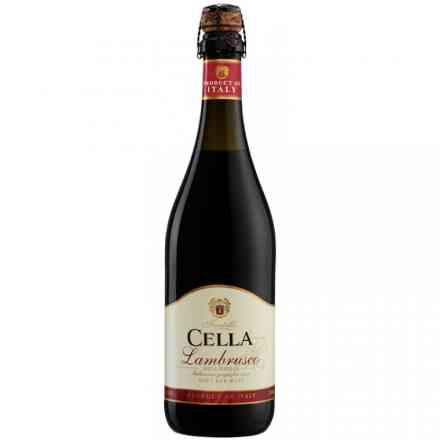 Vinho Frisante Cella Lambrusco Tinto 750ml