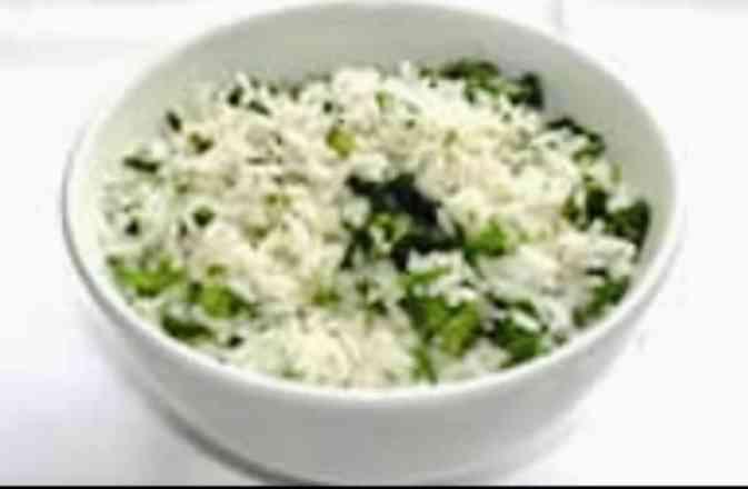 Arroz com Brócolis - Meio