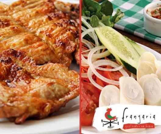 Combo Fit Frango Desossado + Salada Mista - Meio