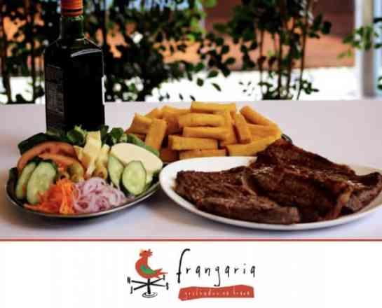 Combo Picanha Angus Premium + Arroz + Feijão + Polenta Frita - Meio