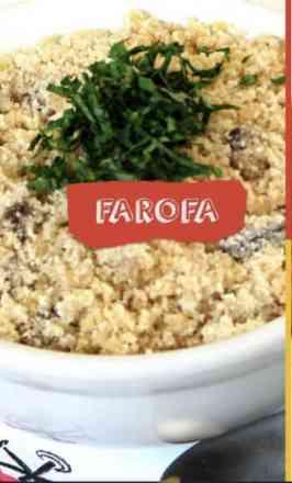 Farofa Frangaria - Meia