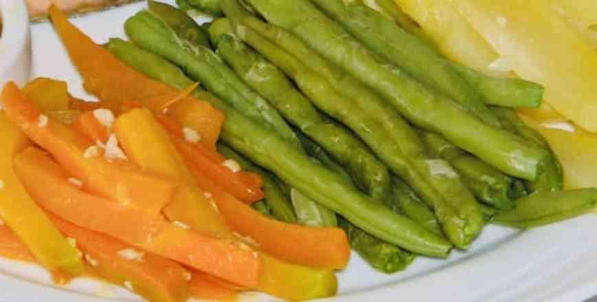 Legumes na Manteiga - Meio
