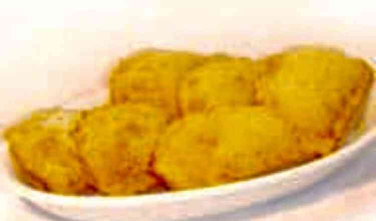 Porção de Pastel de Frango c/ Catupiry - 12 Unidades