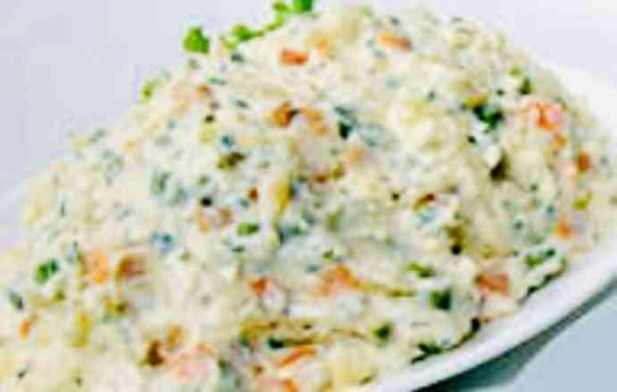 Salada de Maionese - Meia
