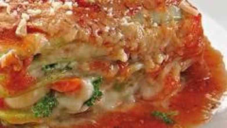 Lasanha Vegetariana com Massa Verde - 1,5 kg