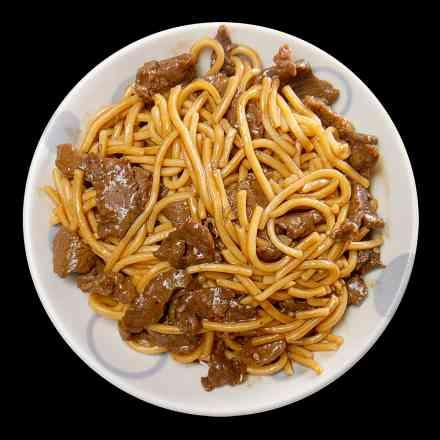 04 - Yakissoba de Carne sem Legumes - Grande