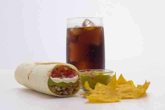 Combo 1 (Burrito Califórnia)