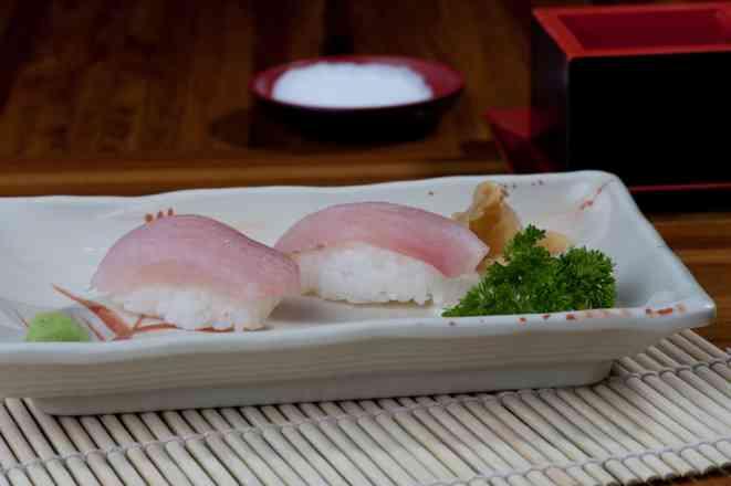 Par Sushi Peixe branco  - 2 Unidades